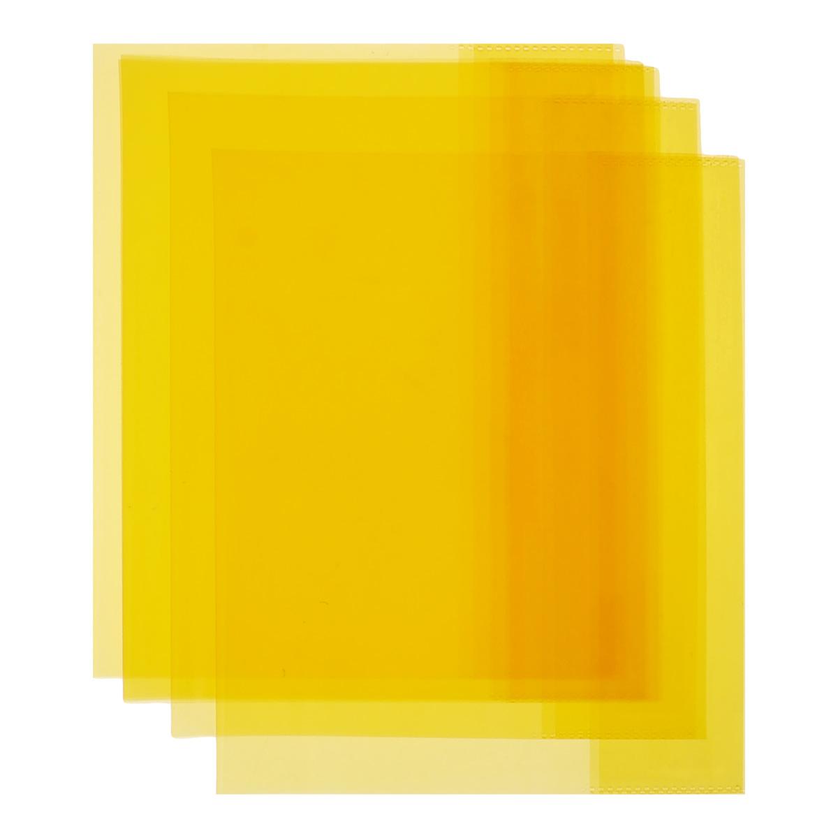 Обложка для тетрадей и дневников Action, цвет: оранжевый, 21 см х 34,6 см, 5 шт72523WDОбложка для тетрадей и дневников Action выполнена из высококачественного полупрозрачного пластика толщиной 100 мкм и предназначена для защиты тетрадей и дневников от пыли, грязи и механических повреждений. Надежная фиксация обложки обеспечивается прозрачными клапанами на внутренней стороне.Обложка для тетрадей и дневников - незаменимый атрибут школьника, студента или офисного работника. Она надежно сбережет ваши документы и защитит их от повреждения, пыли и влаги