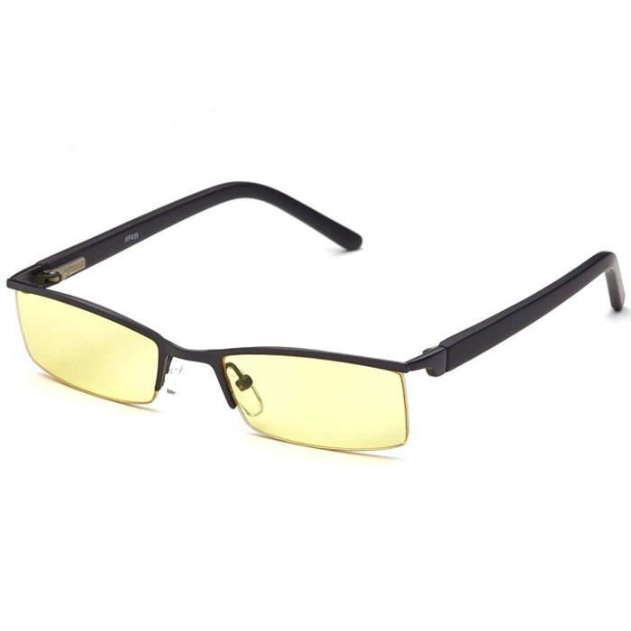 SP Glasses AF035 Luxury, Black компьютерные очкиINT-06501Очки SP Glasses AF035 Luxury разработаны для защиты глаз от вредного излучения мониторов, ноутбуков, игровых приставок, электронных книг, телевизоров. Линзы очков изготовлены из высокотехнологичного и безопасного пластика со специальным желтым светофильтром, обеспечивающим снятие напряжения с глаз при работе за монитором. Очки уменьшают слезоточивость и резь в глазах, снижают утомляемость. SP Glasses AF035 Luxury можно использовать для защиты глаз от яркого света, а также при работе с мелкими и движущимися предметами. Оправа стильных и элегантных очков изготовлена из прочного и в то же время гибкого материала.