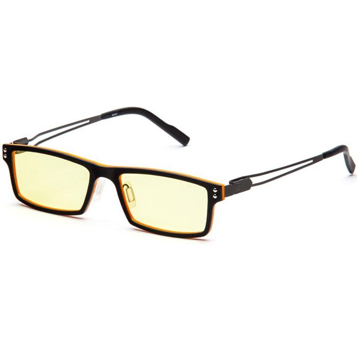 SP Glasses AF071 Titanium , Black Orange компьютерные очкиBM8434-58AESP Glasses AF071 Titanium - компьютерные очки с желтыми линзами, которые предназначены для защиты глаз от вредного излучения мониторов, ноутбуков, игровых приставок, электронных книг, телевизоров. Их линзы изготовлены из качественного прочного пластика и оснащены специальными светофильтрами, позволяющими не перенапрягать глаза при длительной работе за компьютером и с другими подобными устройствами с дисплеями и мониторами. Очки эффективно уменьшают слезоточивость и резь в глазах, снижают утомляемость. Также их можно использовать для защиты глаз от света люминесцентных ламп, при работе с мелкими деталями и движущимися элементами.Наносники: регулируемыеГеометрия: прямоугольная
