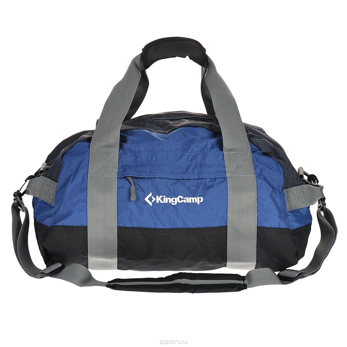 Сумка-баул KingCamp Airporter, цвет: синий, объем 120 л kingcamp 4291 airporter