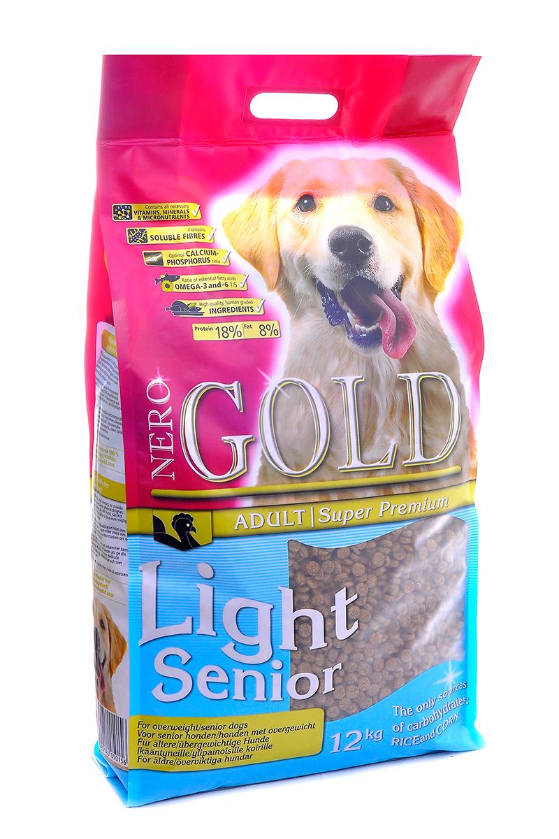 Корм сухой Nero Gold Light Senior, для пожилых собак, индейка рис, 12 кг210141006Сухой корм Nero Gold Light Senior представляет собой тщательно сбалансированный корм, имеющий в наличии все элементы необходимые для улучшения пищеварения и состояния суставов у пожилых собак. Насыщенность мясом индейки придает корму отличный вкус, но в той же время не содержит калорий. Не содержит пшеницу, сою, молочные ингредиенты, говядину, свинину, субпродукты и ГМО. Именно эти ингредиенты вызывают пищевую непереносимость.Состав: маис, дегидрированное мясо индейки, рис, мякоть свеклы, куриный жир, гидролизованная куриная печень, льняное семя, кэроб, дегидрированная рыба, дрожжи, яичный порошок, минералы и витамины, гидролизованные хрящи (источник хондроитина), гидролизат ракообразных (источник глюкозамина), L-карнитин, лецитин, инулин (ФОС), таурин. Пищевая ценность: протеин 18%, жиры 8%, клетчатка 3, зола 4%, влажность 10%, фосфор 0,7%, кальций 0,9%.Пищевые добавки (на 1 кг): витамин A (E672) 20 000 IU, витамин D3 (E671) 2 000 IU, витамин E (альфа токоферола ацетат) 200 мг, витамин C (фосфат аскорбиновой кислоты) 70 мг, сульфат железа 50 мг, иодат кальция 1,5 мг, сульфат меди 5 мг, сульфат марганца 35 мг, сульфат цинка 65 мг, селенат натрия 0,3 мг/кг.Товар сертифицирован.