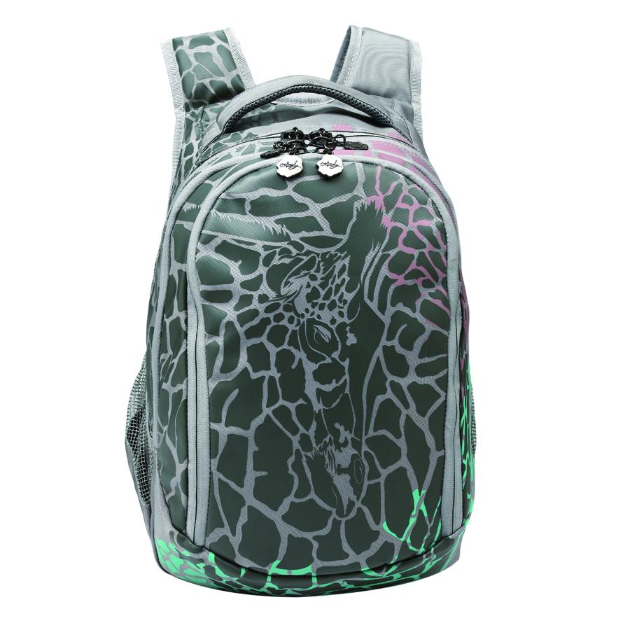 Рюкзак городской Grizzly, цвет: светло-серый, 22 л RD-534-1/2Z90 blackРюкзак молодежный женский с двумя отделениями, внутренними карманами, укрепленными лямками и жесткой спинкой, с ручкой для переноски.Размер рюкзака (ш х г х в): 29 х 19 х 40 см.