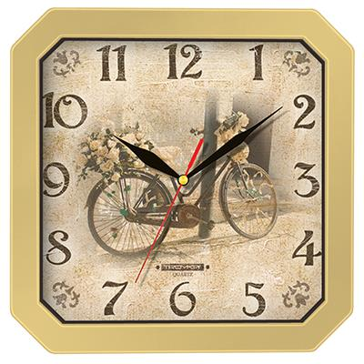 Часы настенные Troyka, цвет: бежевый. 3137131098293777Настенные кварцевые часы Troyka в винтажном стиле, изготовленные из пластика, прекрасно подойдут под интерьер вашего дома. Квадратные часы имеют три стрелки: часовую, минутную и секундную, циферблат защищен прозрачным пластиком.Размер часов: 29 см х 29 см х 3,5 см.Часы работают от 1 батарейки типа АА напряжением 1,5 В. Внимание! Часы укомплектованы бесплатным тестовым элементом питания для обеспечения их работоспособности при предпродажной подготовке и демонстрации рабочих функций.