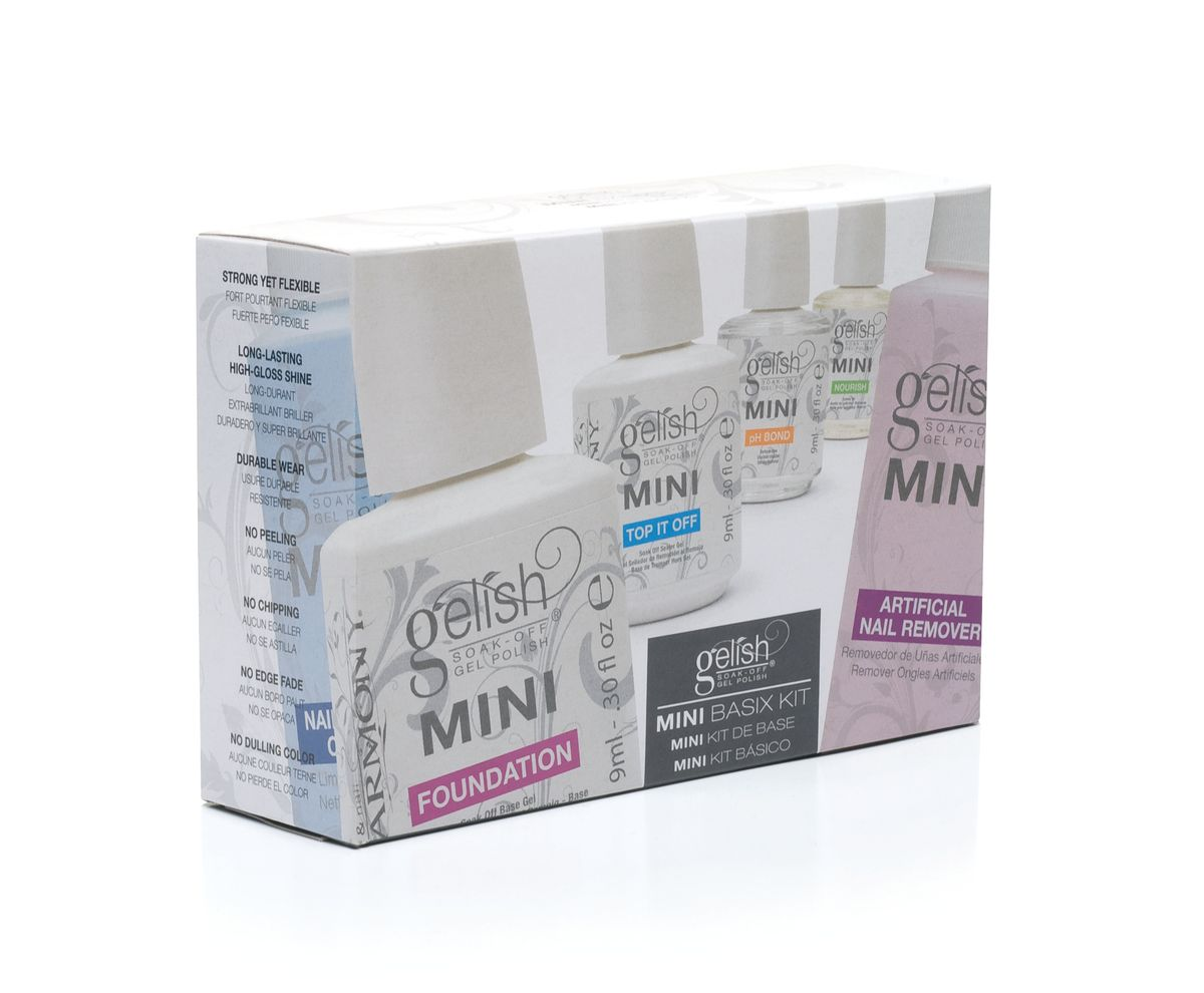 Gelish Mini Стартовый набор для моделирования гель-лаком, 1 шт. nourish набор миниатюр для сухой кожей лица nourish protect mini kit 50 мл 50 мл 15 мл 15 мл