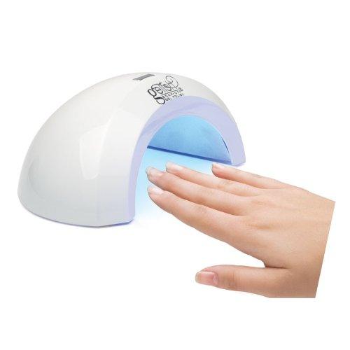 Gelish Mini LED аппарат PRO-45, 6 ВтMFM-3101Компактный эргономичныйLED-аппарат идеально подходит для полимеризации гель-лаков и препаратов из системы Gelish. Оснащен таймером на 45 секунд и тремя светодиодными лампами по 2 Вт каждая. Ресурс работы светодиодов 50 000 часов (приблизительно 5 лет), поэтому не придется менять лампы. пластик, светодиоды