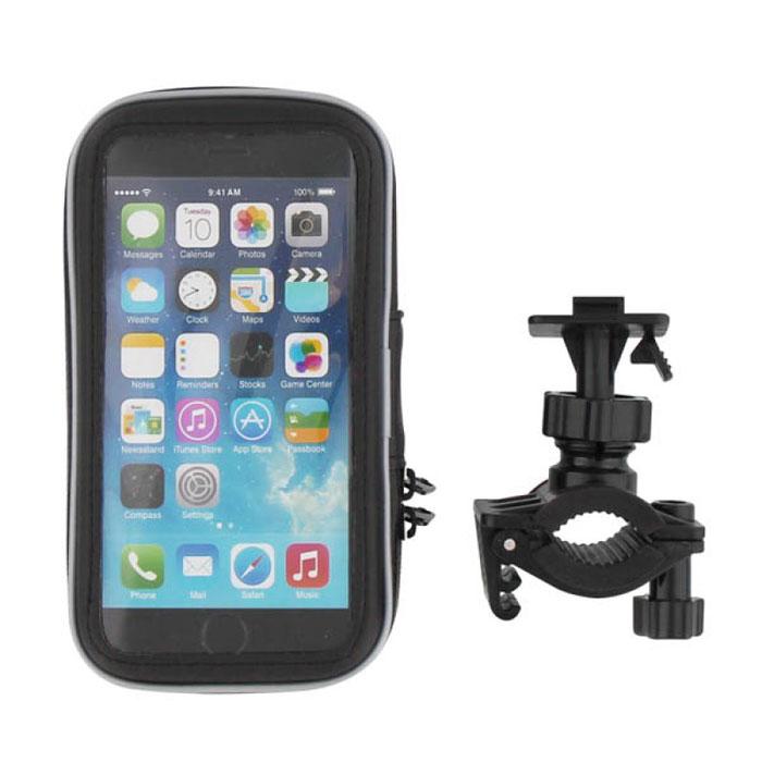 TNB SPBIKE2 крепление для телефона4630018861223TNB SPBIKE2 - надежное крепление на руль велосипеда или мотоцикла для вашего смартфона. Он обеспечивает удобный доступ к устройству в дороге, а также защищен от пыли и влаги благодаря своей полужесткой оболочке. Даже когда телефон находится внутри, вы можете получить доступ к функциям, так как поверхность чехла полностью совместима с сенсорными дисплеями.Диаметр руля: 28 мм (максимум)Совместимость с Samsung Galaxy S3/S4, iPhone 6, 5S, 5, 4S, 4, 3GS и другими моделямиВключает 4 адаптера для различных смартфонов