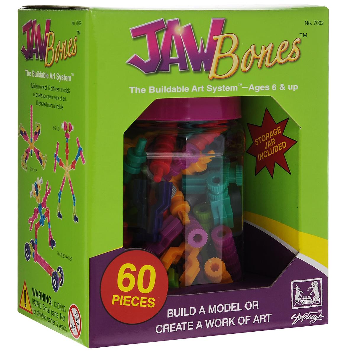 Jawbones Конструктор 7002 игрушка jawbones конструктор 60 деталей в банке для хранения 7002