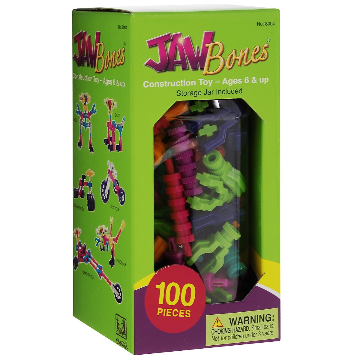 Jawbones Конструктор 8004 игрушка jawbones конструктор 100 деталей в банке для хранения