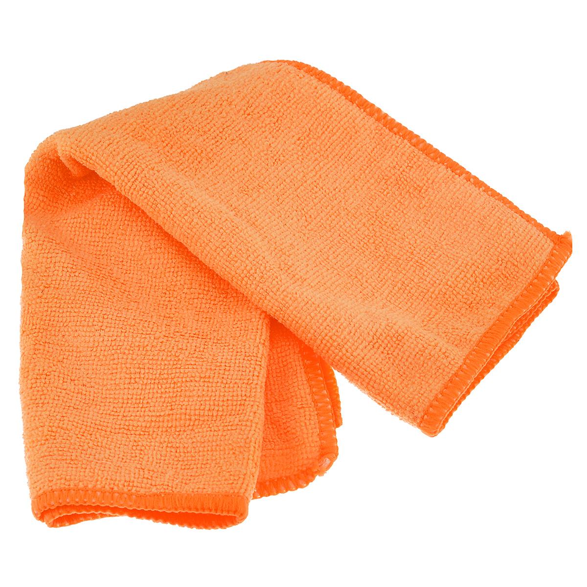 Салфетка из микрофибры Magic Power, для ухода за СВЧ печами и духовыми шкафами, цвет: оранжевый, 35 см х 40 см14400545_ГерберыСалфетка Magic Power, изготовленная из микрофибры (75% полиэстера, 25% полиамида), предназначена для ухода за СВЧ печами и духовыми шкафами, для очистки внешней и внутренней поверхности плит и микроволновых печей от любых видов загрязнений, для полировки и придания блеска. Идеально подходит для использования со средствами Magic Power по уходу за СВЧ-печами и духовыми шкафами. Не оставляет разводов и ворсинок. Обладает повышенной прочностью.
