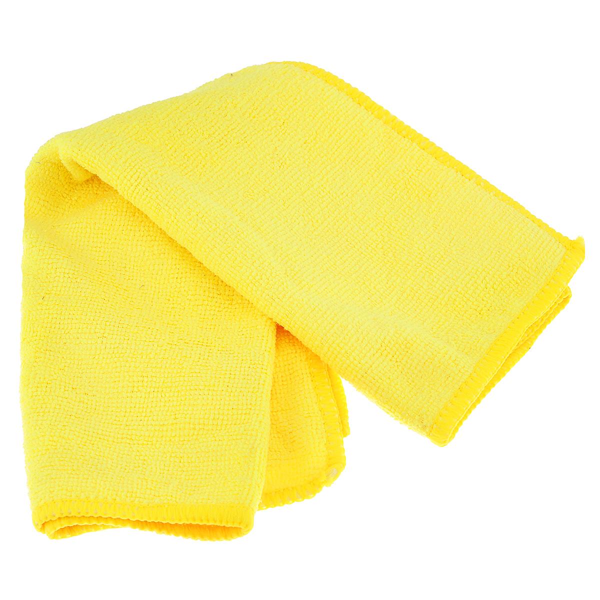 Салфетка из микрофибры Magic Power, для ухода за СВЧ печами и духовыми шкафами, цвет: желтый, 35 х 40 см531-105Салфетка Magic Power, изготовленная из микрофибры (75% полиэстера, 25% полиамида), предназначена для ухода за СВЧ печами и духовыми шкафами, для очистки внешней и внутренней поверхности плит и микроволновых печей от любых видов загрязнений, для полировки и придания блеска. Идеально подходит для использования со средствами Magic Power по уходу за СВЧ-печами и духовыми шкафами. Не оставляет разводов и ворсинок. Обладает повышенной прочностью.