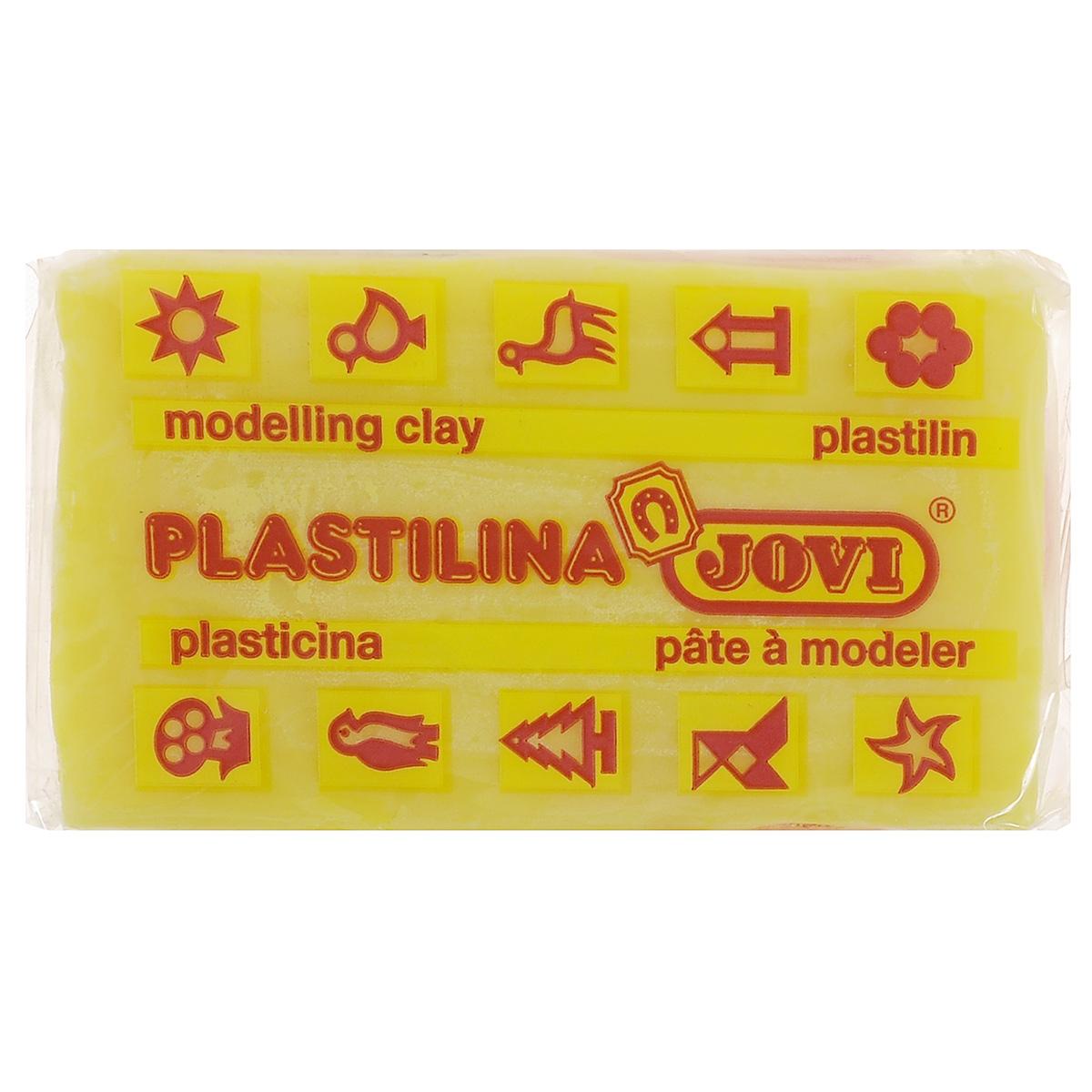 Jovi Пластилин, цвет: лимонный, 50 г70/30U_лимонныйПластилин Jovi - лучший выбор для лепки, он обладает превосходными изобразительными возможностями и поэтому дает простор воображению и самым смелым творческим замыслам. Пластилин, изготовленный на растительной основе, очень мягкий, легко разминается и смешивается, не пачкает руки и не прилипает к рабочей поверхности. Пластилин пригоден для создания аппликаций и поделок, ручной лепки, моделирования на каркасе, пластилиновой живописи - рисовании пластилином по бумаге, картону, дереву или текстилю. Пластические свойства сохраняются в течение 5 лет.