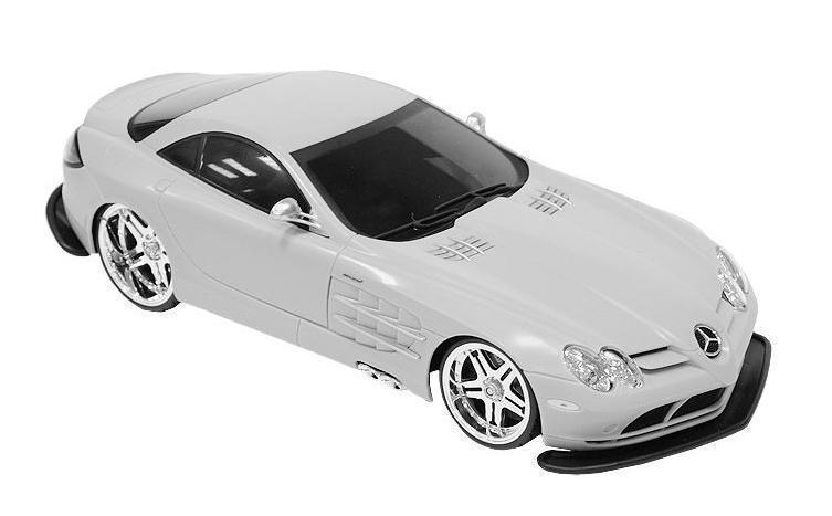 Maisto Радиоуправляемая модель Mercedes SLR McLaren цвет серебристый maisto модель автомобиля 2014 corvette stingray цвет красный