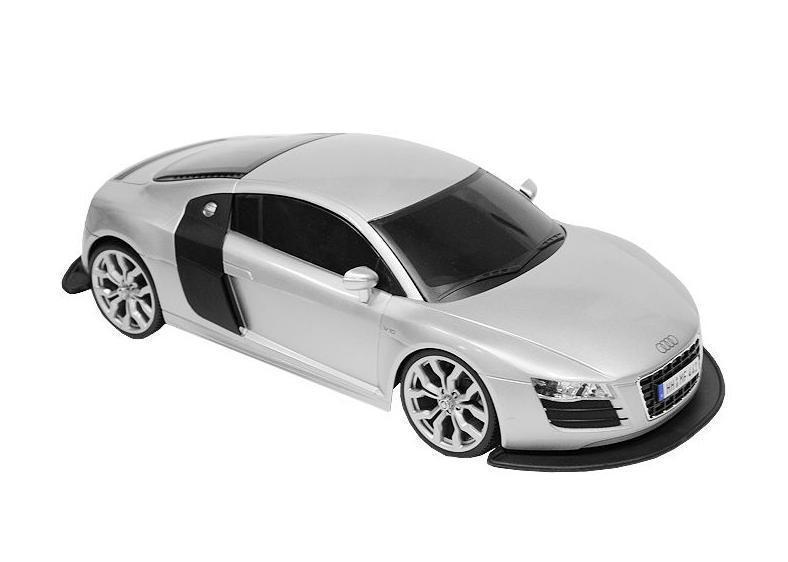 Maisto Радиоуправляемая модель Audi R8 V10 цвет серебристый автомобиль welly audi r8 v10 1 24 белый 24065