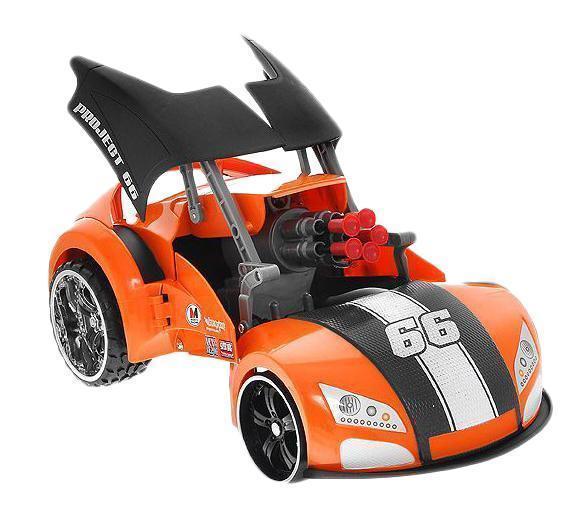 Maisto Машина на радиоуправлении Project 66 цвет оранжевый черный