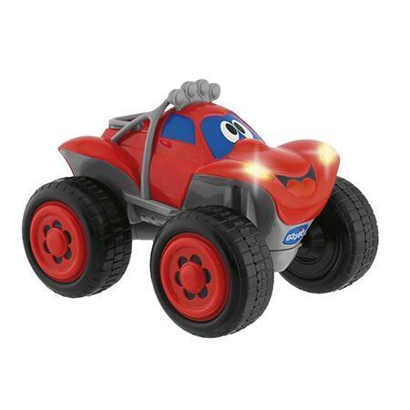 """Машинка """"Билли - большие колеса"""" Chicco приведет в восторг юного водителя. Машина послушно следует указаниям малыша: поворачивает вправо и влево, разгоняется и тормозит. При этом действия сопровождаются соответствующими звуковыми и световыми сигналами. Например, при торможении слышна работа тормозов и загораются сигнальные огни. Пульт управления выполнен в виде руля, что придает игре еще большую реальность. На руле даже есть клаксон. Что еще нужно начинающему шоферу? Во время игры ребенок тренирует навыки координации. Есть много вещей, которые дети должны выучить как можно раньше, так как касаются они основ современного устройства жизни, его правил и определенностей. Например, это можно сказать про дорожное движение, привыкать к которому нужно с самых первых лет, и тогда в будущем восприниматься все будет гораздо проще. Конечно, единственным способом рассказать малышу о движении, дороге и транспорте – приобрести дистанционно управляемый автомобиль...."""