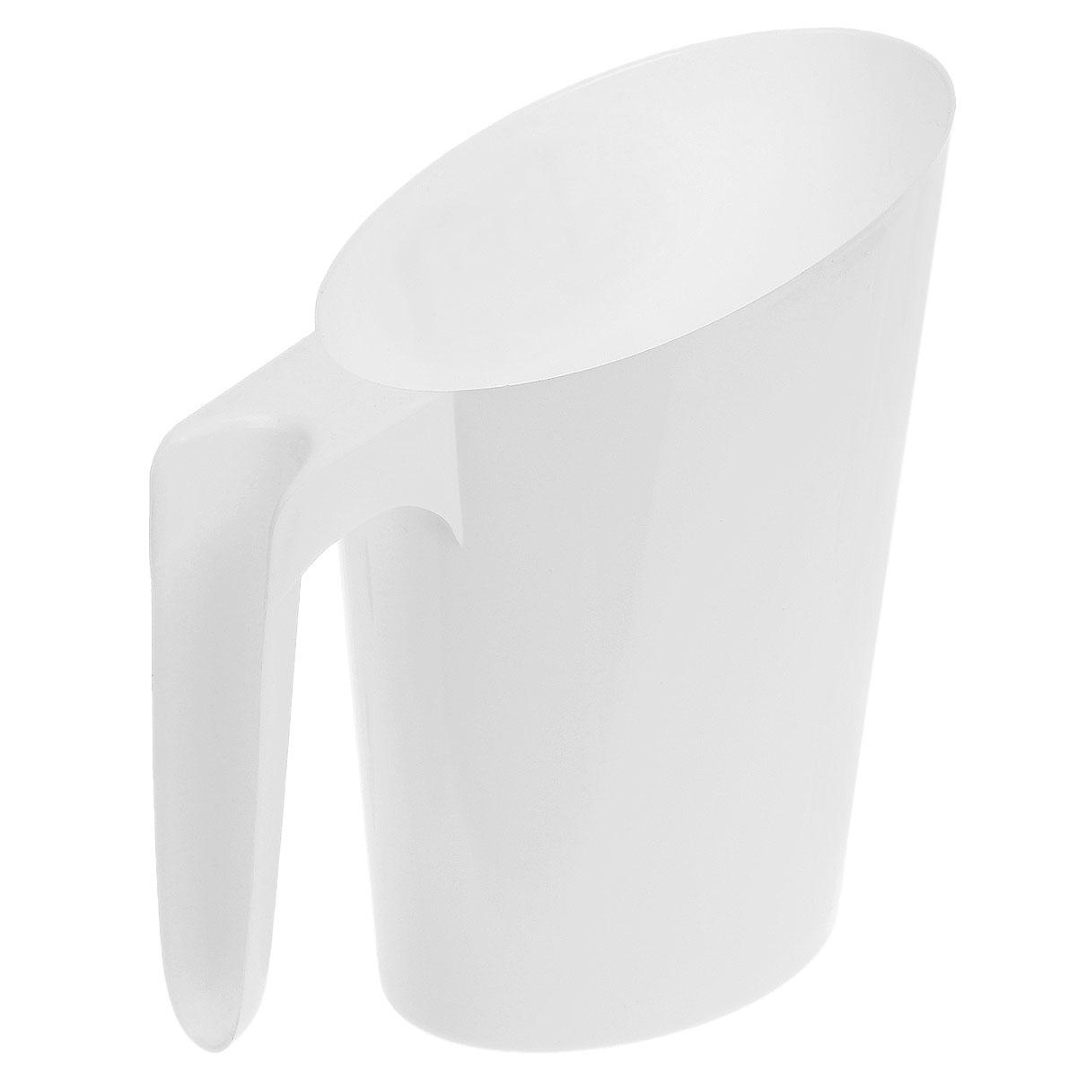 Кувшин-подставка для молочного пакета Idea, цвет: белыйМ 1216_белыйКувшин-подставка для молочного пакета Idea изготовлен из высококачественного пищевого полипропилена (пластика). Изделие предназначено для хранения пакетов с кефиром и молоком, что очень удобно, так как такие пакеты всегда протекают и их очень неудобно хранить. Кувшин-подставка с легкостью решит эту проблему. Изделие практичное, функциональное, имеет стильный современный дизайн. Поверхность гладкая, легко чистится.