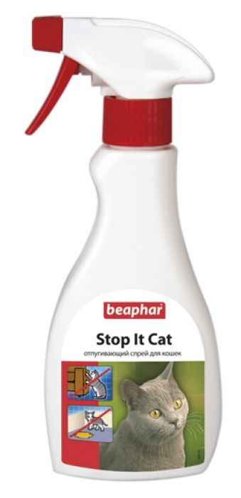 Спрей для отпугивания кошек Beaphar  Stop it Cat , 250 мл