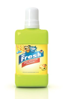 Mr.Fresh Средство для мытья полов 300мл12171996Средство идеально подходит для мытья полов в помещениях, где содержатся домашние животные. Надежно отмывает грязь и пятна, дезинфицирует, устраняет неприятные запахи. Не содержит хлора. Тип средства: Средство лечебное