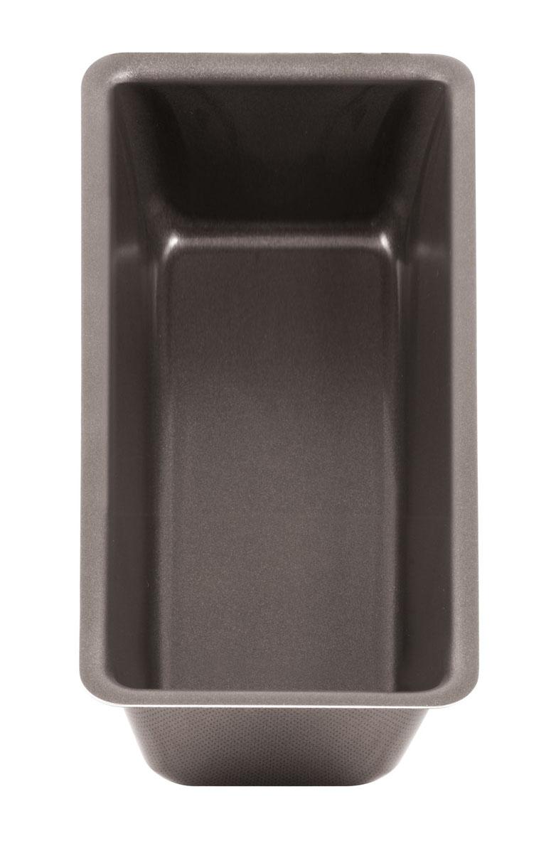 Форма для кекса Tefal Natura, 24 х 10,5 смFS-91909Форма для кекса Tefal Natura выполнена из переработанного алюминия, обладающего большой износостойкостью и надежностью, и не содержащего вредных для организма веществ (PFOA, кадмий, свинец).Технология Cuisson Homogene способствует оптимальному распределению тепла.Антипригарное покрытие Demoulage Parfait не даст пригореть выпечке, способствует оптимальному пропеканию теста. Форму легко чистить и мыть. Можно мыть в посудомоечной машине.Внутренний размер формы: 24 см х 10,5 см.Внешний размер формы: 25 см х 11 см.Высота стенок: 6 см.