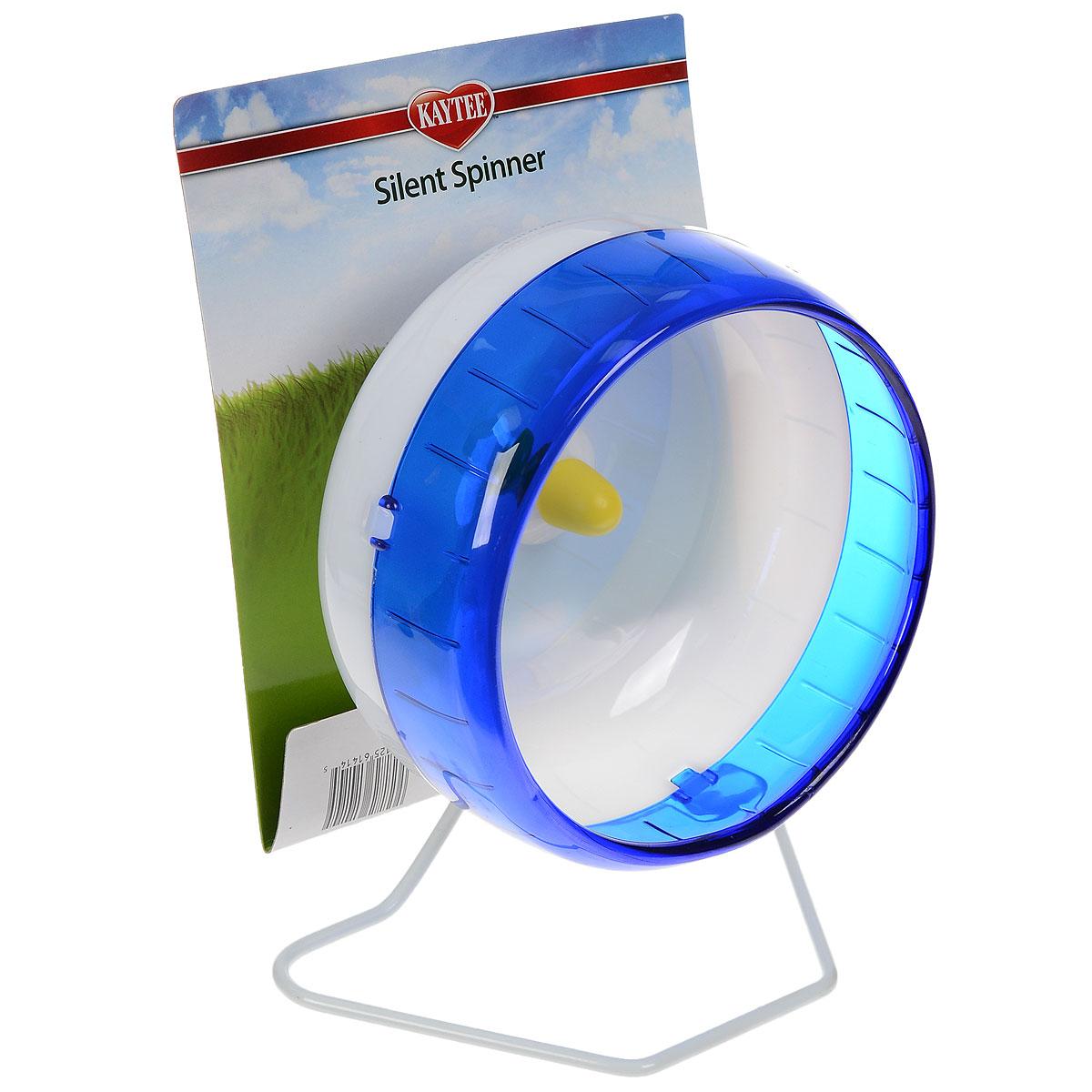 Колесо для грызунов I.P.T.S., цвет: белый, синий, диаметр 16,5 см0120710Колесо для грызунов I.P.T.S., изготовленное из прочного пластика, абсолютно бесшумное. Для грызунов очень важно постоянно разминать свои лапки и поддерживать физической форму. Именно поэтому одним из самых востребованных дополнительных аксессуаров для них являются различные приспособления для бега. Тренировки на колесе станут питомцу в радость и не позволят набрать лишний вес. Предназначено для сирийских и карликовых хомяков, песчанок и мышей. Колесо можно установить на дно клетки, а также прикрепить к стенке. Диаметр колеса: 16,5 см.
