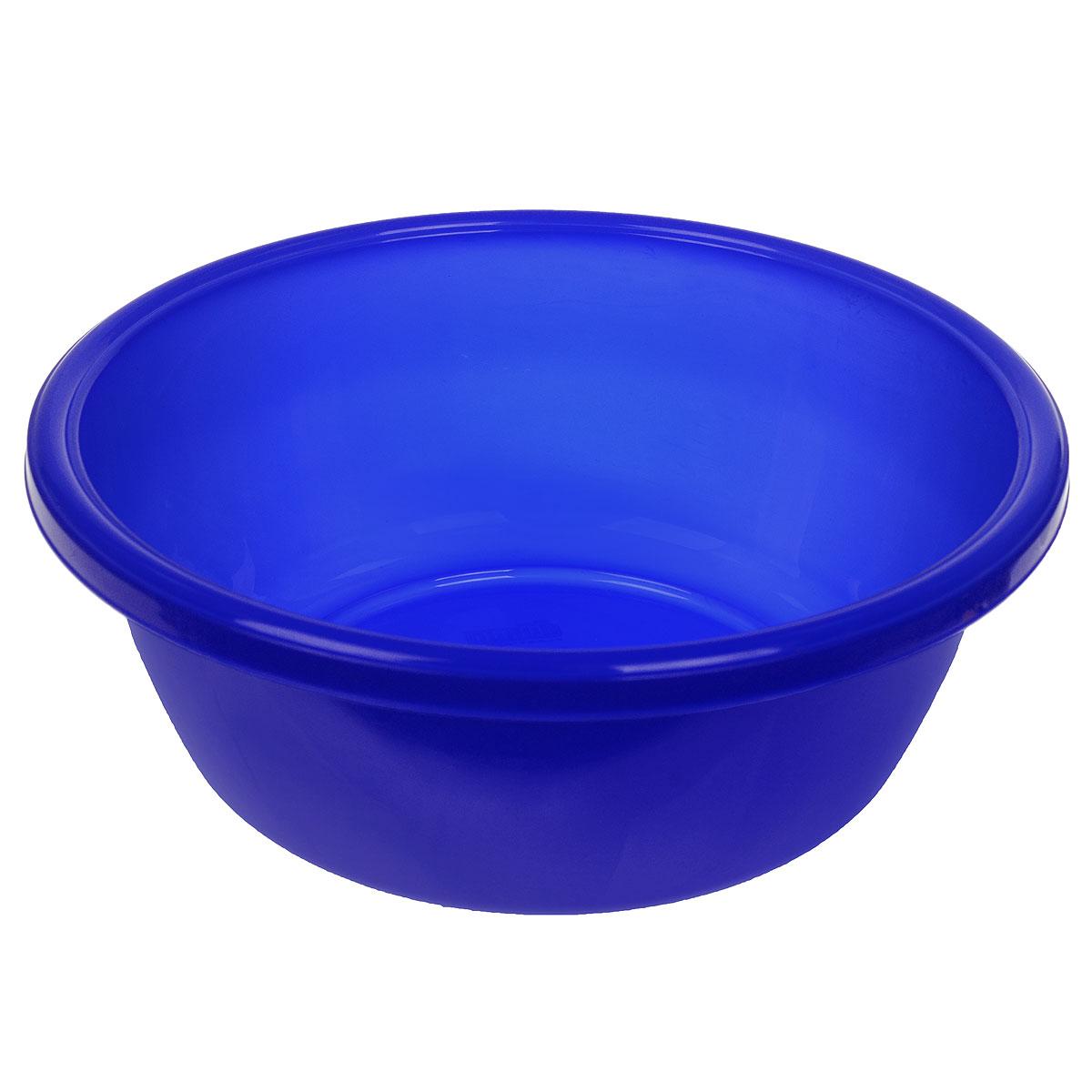 Таз Dunya Plastik, цвет: синий, 7 л контейнер dunya plastik цвет синий прозрачный 2 20 л