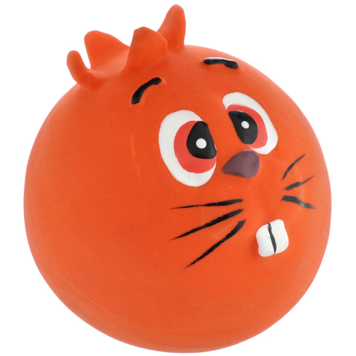 Игрушка для собак I.P.T.S. Мяч с мордочкой, цвет: красный, диаметр 7 см430238Игрушка для собак I.P.T.S. Мяч с мордочкой, изготовленная из высококачественного латекса, выполнена в виде мячика с милой мордочкой. Такая игрушка порадует вашего любимца, а вам доставит массу приятных эмоций, ведь наблюдать за игрой всегда интересно и приятно. Оставшись в одиночестве, ваша собака будет увлеченно играть.Диаметр: 7 см.