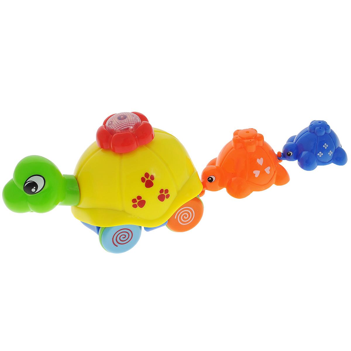 """Развивающая игрушка Малышарики """"Семья черепашек"""", со световыми и звуковыми эффектами, Concord Toys International Limited"""