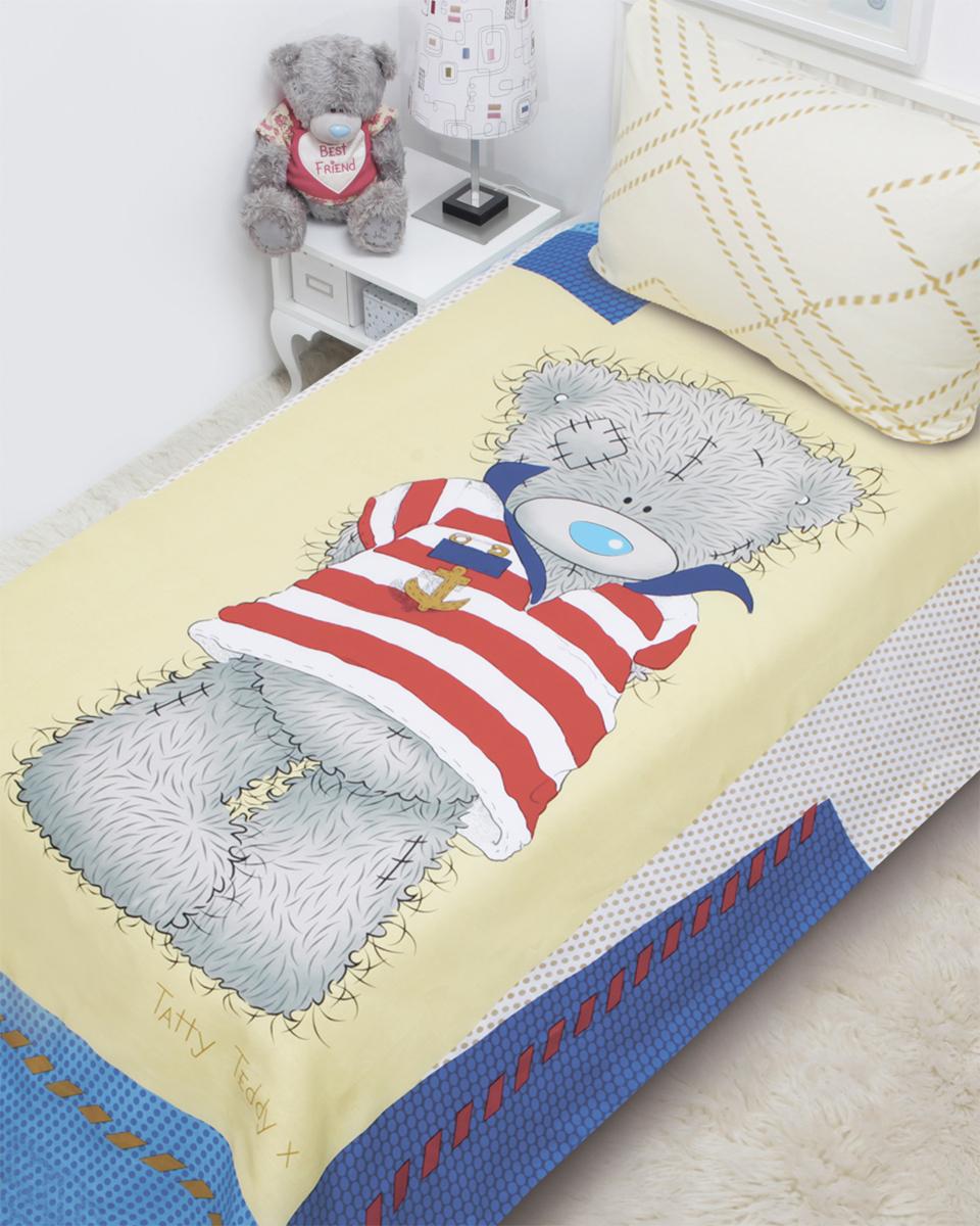 Mona Liza Комплект детского постельного белья Teddy Морячок 3 предмета521404Детское постельное белье Mona Liza Teddy Морячок прекрасно подойдет для вашего малыша. Текстиль произведен из 100% хлопка. При нанесении рисунка используются безопасные натуральные красители, не вызывающие аллергии. Гладкая структура делает ткань приятной на ощупь, она прочная и хорошо сохраняет форму, мало мнется и устойчива к частым стиркам. Комплект состоит из наволочки, простыни и пододеяльника.