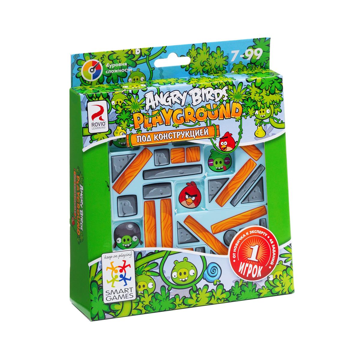 Bondibon Логическая игра Smartgames Angry Birds Playground