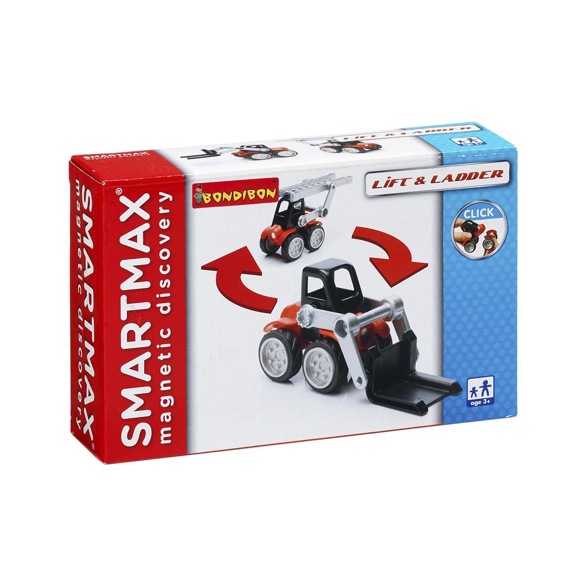 Bondibon Конструктор магнитный Smartmax Спецтехника