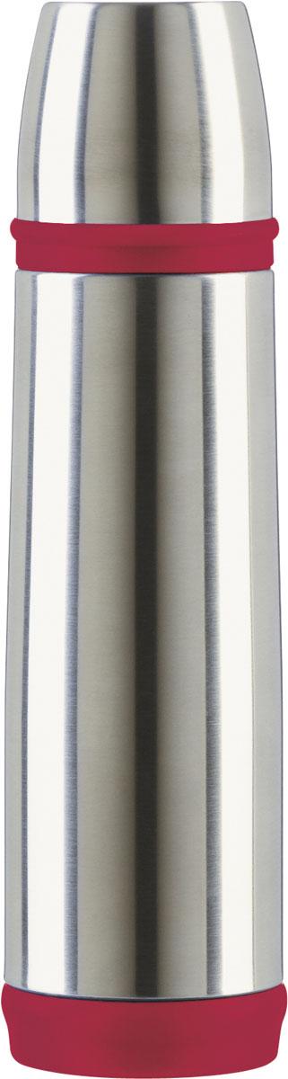 Термос Emsa Captain, цвет: серебристый, 0,5 л10-01289-036Простая и гармоничная форма термоса Emsa Mobility, выполненного из стали, удовлетворит желания любого потребителя. Термос оснащен герметичным клапаном и крышкой, которую можно использовать в качестве стакана, а благодаря системе высококачественной вакуумной изоляции он сохранит ваши напитки горячими или холодными надолго. Диаметр горлышка термоса: 4,5 см.Диаметр дна термоса: 6,5 см.Высота термоса (с учетом крышки): 25 см.Сохранение холодной температуры: 24 ч.Сохранение горячей температуры: 12 ч. Материал: нержавеющая сталь, пластик, силикон; цвет: серебристыйСерия: CAPTAIN