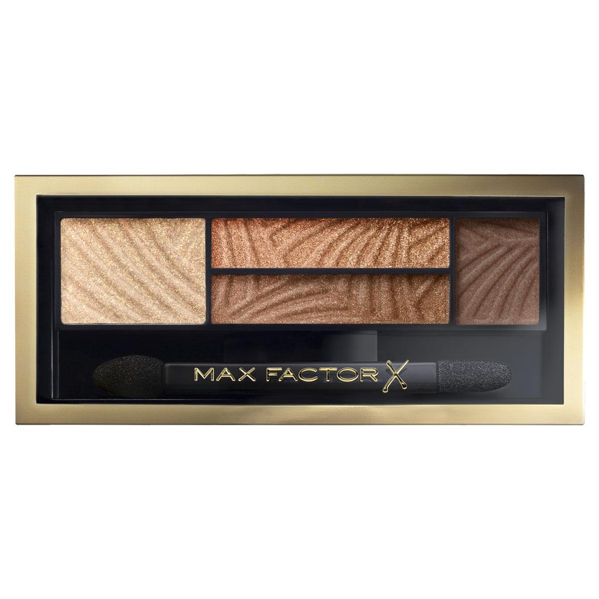 Max Factor 4-хцветные тени для век и бровей Smokey Eye Drama Kit 2 В 1, тон 03 sumptuous golds81513853