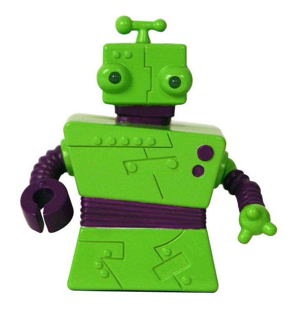 Гек - инженер-дизайнер. Используя всякий хлам и мусор. Он собирает новые приборы и машины, и все что потребуется команде Z-7. Гек любит перемены и часто использует свою уникальную возможность менять цвет, предавая себе более свежий вид. Гек - дружелюбный болтун и может легко убедить остальных. Мини-робот Гек отличается оригинальным дизайном, а его некоторые детали светятся в темноте. Он двигается вперед и назад, разворачивается на 360 градусов, а также издает забавные звуки. Управление роботом происходит от пульта.