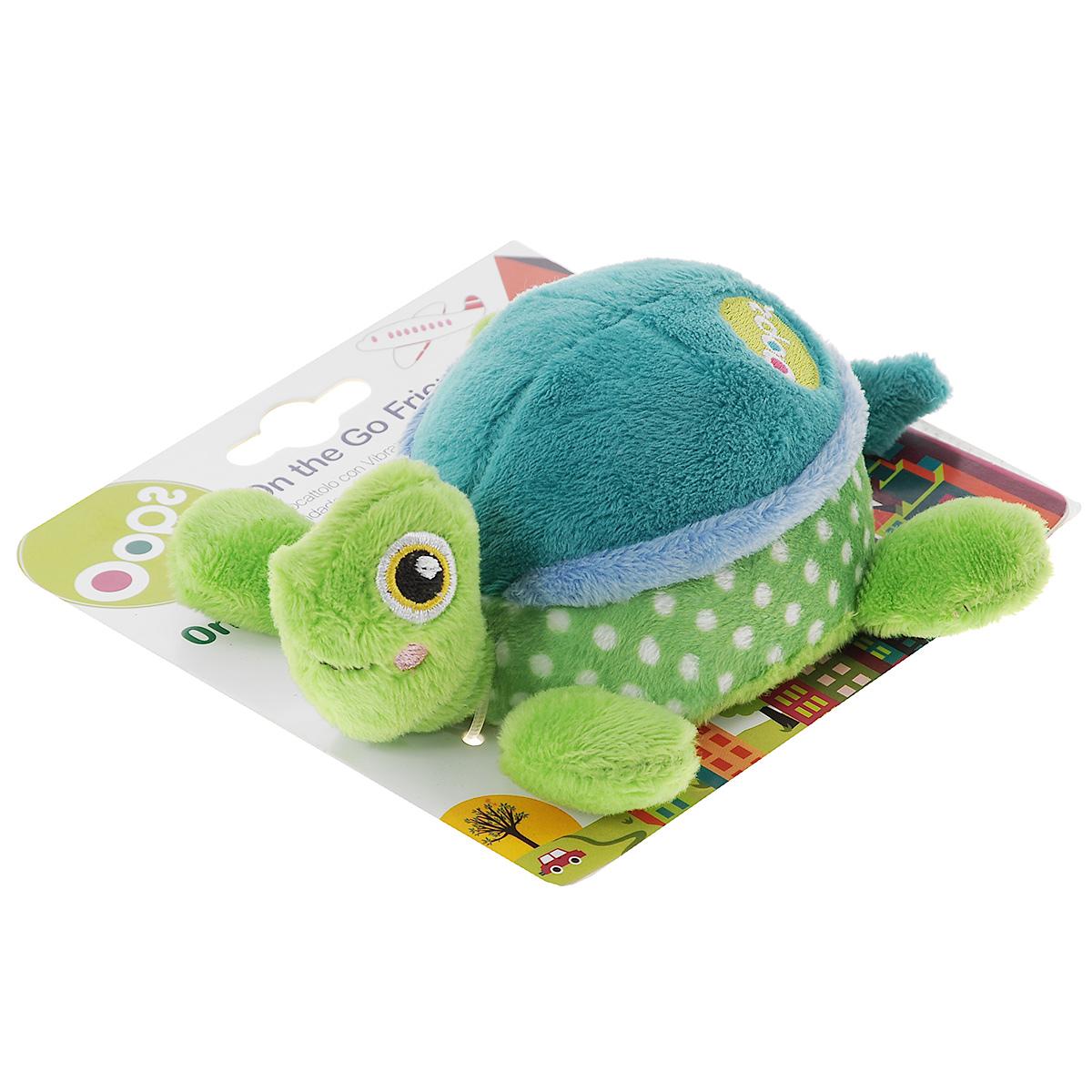 Игрушка развивающая OOPS Черепаха, цвет: зеленый, голубой погремушки oops игрушка развивающая собачка