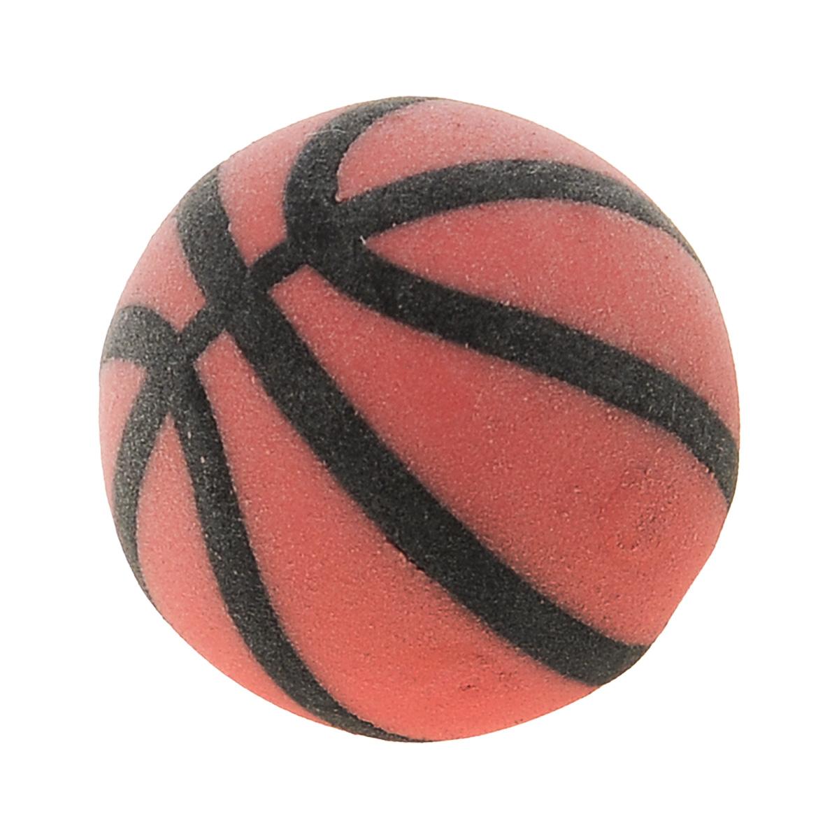 Brunnen Ластик Мяч баскетбольный, цвет: оранжевый191510_бирюзовыйЛастик Мяч баскетбольный станет незаменимым аксессуаром на рабочем столе не только школьника или студента, но и офисного работника. Он легко и без следа удаляет надписи, сделанные карандашом.