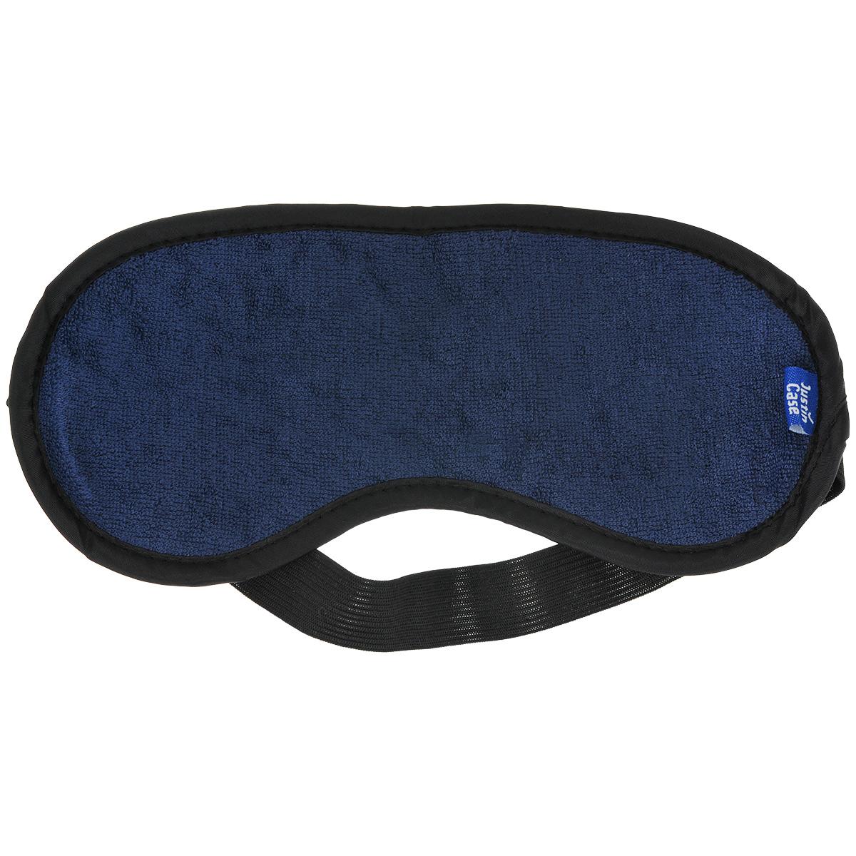 Маска для сна  JustinCase , цвет: синий, черный - Маски, наборы для сна