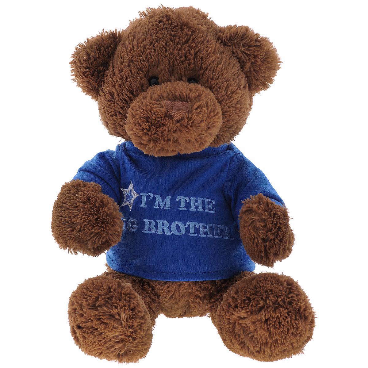 Мягкая игрушка Gund Big Brother, 29 см gund мягкая игрушка arlo bear 18 см