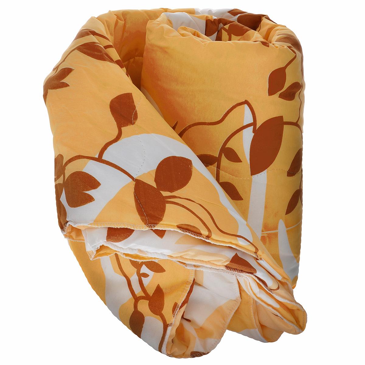 Одеяло Ник Мечта, наполнитель: термофайбер, цвет: желтый, 170 х 205 см531-103Одеяло Ник приятно удивит вас и создаст атмосферу тепла и комфорта в вашем доме. Одеяло изготовлено из полиэстера, а наполнителем является термофайбер.Термофайбер - нетканое полотно, состоящее из полого полиэфирного силиконизированного и легкоплавкого волокон. Полое силиконизированное полиэфионое волокно - это великолепный современный наполнитель для постельных принадлежностей. Соединяясь между собой, волокна образуют упругую пружинистую структуру. Благодаря ей наполнитель удерживает тепло в холодную погоду и не препятствует свободной циркуляции воздуха для удаления влаги в жаркую погоду. Наполнитель не сваливается и не приминается, великолепно сохраняя форму даже после многократных стирок и сушек, подходит людям, страдающим аллергией на пух и перья.Свойства термофайбера: - отличные теплоизоляционные свойства; - воздухопроницаемость; - гипоаллергенность; - простой и легкий уход; - быстро высыхает и восстанавливает объем после стирки. Размер: 170 см х 205 см.