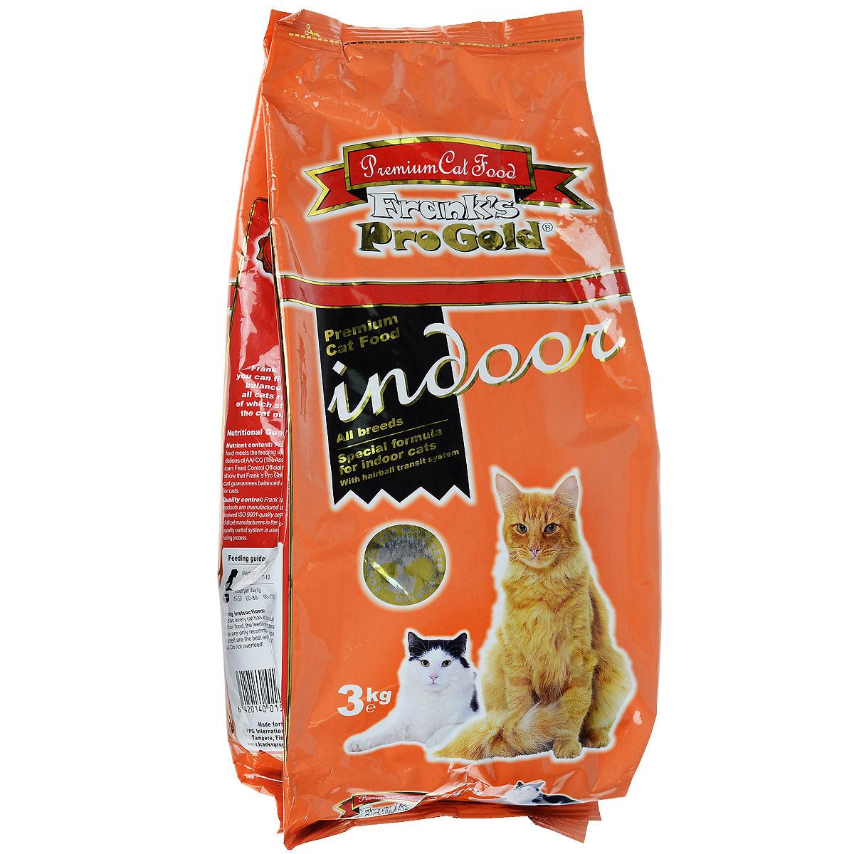 Корм сухой Franks ProGold для домашних и кастрированных кошек, 3 кг0120710Сухой корм Franks ProGold - это полноценный рацион для взрослых домашних и кастрированных котов. Он содержит особую разработанную с участием ученых комбинацию ингредиентов для поддержания здоровья вашего питомца в течение продолжительного времени. Корм с высококачественным белком и низким содержанием жира, сочетающий все необходимые питательные веществаСостав: дегидрированное мясо курицы, рис, маис, ячмень, куриный жир, печень птицы, гидролизованный белок, пищевая целлюлоза (минимум 5%), мякоть свеклы, минералы, витамины, дрожжи, яичный порошок, кукурузная мука, рыбий жир, фруктоолигосахариды (минимум 5%), лецитан (минимум 0,5%), экстракт юкки, линхлорид, карбонат кальция, мясо птицы, хлорид натрия, таурин, витамин Е, витамин С.Пищевая ценность: белки 28,0%, жиры 14,0%, клетчатка 5,5%, зола 6,5%, влажность 8,0%, фосфор 1,0%, кальций 1,1%, натрий 0,6%, магний 0,09%. Добавки: витамин-A 22000 IU/кг, витамин-D3 2000 IU/кг, витамин-E 400 мг/кг, витамин-C 40 мг/кг, медь (сульфат меди пентагидрат) 2,8 мг/кг, таурин 1600 мг/кг, холина хлорид 2500 мг/кг, лецитин 5 г/кг. Товар сертифицирован.