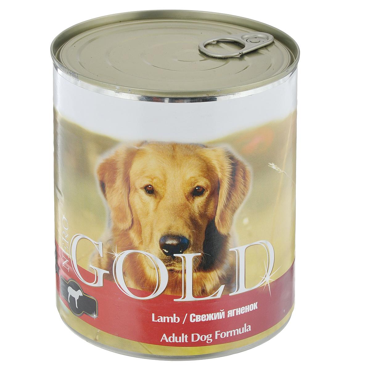 Консервы для собак Nero Gold, свежий ягненок, 810 г0120710Консервы для собак Nero Gold - полнорационный продукт, содержащий все необходимые витамины и минералы, сбалансированный для поддержания оптимального здоровья вашего питомца! Состав: мясо и его производные, филе курицы, филе ягненка, злаки, витамины и минералы. Гарантированный анализ: белки 6,5%, жиры 4,5%, клетчатка 0,5%, зола 2%, влага 81%. Пищевые добавки на 1 кг продукта: витамин А 1600 МЕ, витамин D 140 МЕ, витамин Е 10 МЕ, железо 24 мг, марганец 6 мг, цинк 15 мг, медь 1 мг, магний 200 мг, йод 0,3 мг, селен 0,2 мг.Вес: 810 г. Товар сертифицирован.