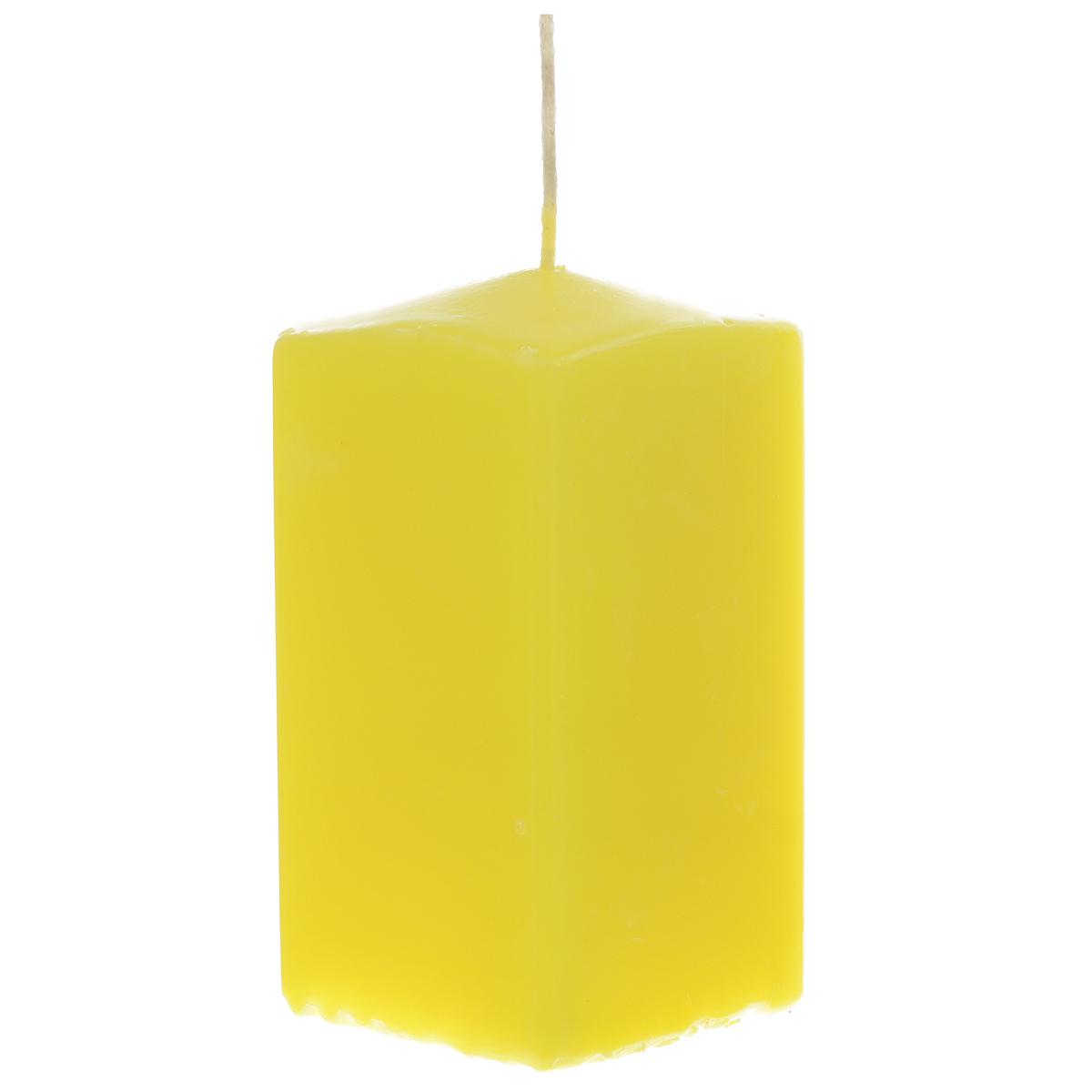 Свеча Sima-land Аромат огня, цвет: желтый, высота 10 см. 175476175476Свеча Sima-land Аромат огня выполнена из парафина в классическом стиле.Изделие порадует вас ярким дизайном. Такую свечу можно поставить в любое место и она станет ярким украшением интерьера. Свеча Sima-land Аромат огня создаст незабываемую атмосферу, будь то торжество, романтический вечер или будничный день.