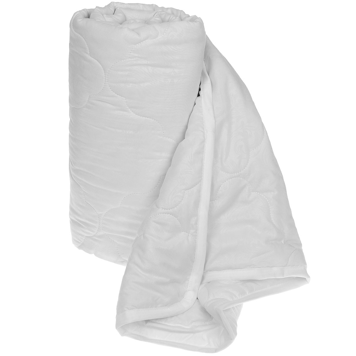 Одеяло Sova & Javoronok Бамбук, наполнитель: бамбуковое волокно, цвет: белый, 172 х 205 см96281375Одеяло Sova & Javoronok Бамбук подарит комфорт и уют во время сна. Чехол, выполненный из микрофибры (100% полиэстера), оформлен стежкой и надежно удерживает наполнитель внутри. Волокно на основе бамбука - инновационный наполнитель, обладающий за счет своей пористой структуры хорошей воздухонепроницаемостью и высокой гигроскопичностью, обеспечивает оптимальный уровень влажности во время сна и создает чувство прохлады в жаркие дни.Антибактериальный эффект наполнителя достигается за счет содержания в нем специального компонента, а также за счет поглощения влаги, что создает сухой микроклимат, препятствующий росту бактерий. Основные свойства волокна: - хорошая терморегуляция, - свободная циркуляция воздуха, - антибактериальные свойства, - повышенная гигроскопичность, - мягкость и легкость, - удобство в эксплуатации и легкость стирки. Рекомендации по уходу: - Стирка запрещена. - Не отбеливать, не использовать хлоросодержащие моющие средства и стиральные порошки с отбеливателями.- Не выжимать в стиральной машине.- Чистка только с углеводородом, хлорным этиленом и монофтортрихлорметаном.Размер одеяла: 172 см х 205 см. Материал чехла: микрофибра (100% полиэстер). Материал наполнителя: бамбуковое волокно.