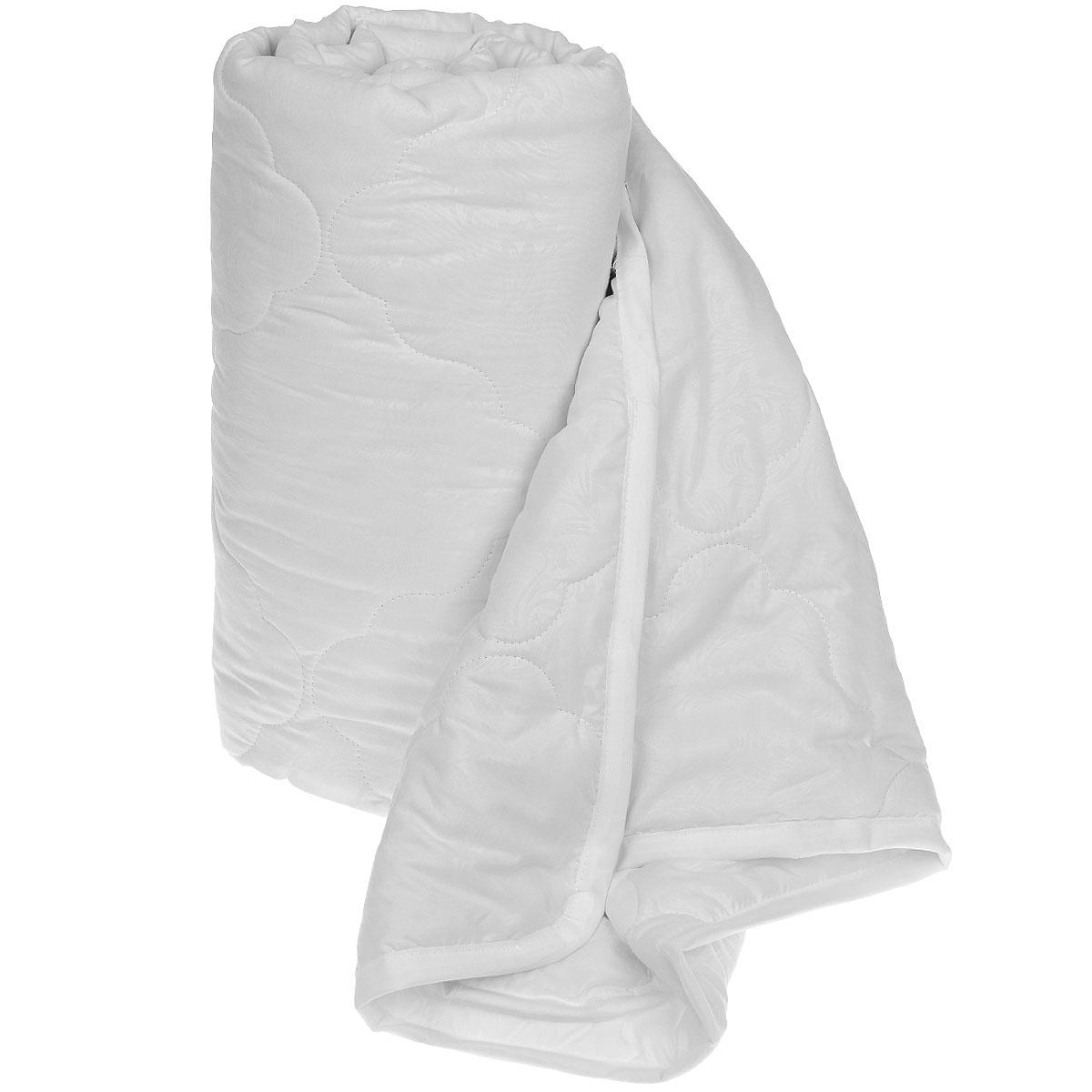 Одеяло Sova & Javoronok Бамбук, наполнитель: бамбуковое волокно, цвет: белый, 200 см х 220 см531-105Одеяло Sova & Javoronok Бамбук подарит комфорт и уют во время сна. Чехол, выполненный из микрофибры (100% полиэстера), оформлен стежкой и надежно удерживает наполнитель внутри. Волокно на основе бамбука - инновационный наполнитель, обладающий за счет своей пористой структуры хорошей воздухонепроницаемостью и высокой гигроскопичностью, обеспечивает оптимальный уровень влажности во время сна и создает чувство прохлады в жаркие дни.Антибактериальный эффект наполнителя достигается за счет содержания в нем специального компонента, а также за счет поглощения влаги, что создает сухой микроклимат, препятствующий росту бактерий. Основные свойства волокна: - хорошая терморегуляция, - свободная циркуляция воздуха, - антибактериальные свойства, - повышенная гигроскопичность, - мягкость и легкость, - удобство в эксплуатации и легкость стирки. Рекомендации по уходу: - Стирка запрещена. - Не отбеливать, не использовать хлоросодержащие моющие средства и стиральные порошки с отбеливателями.- Не выжимать в стиральной машине.- Чистка только с углеводородом, хлорным этиленом и монофтортрихлорметаном.Размер одеяла: 200 см х 220 см. Материал чехла: микрофибра (100% полиэстер). Материал наполнителя: бамбуковое волокно.