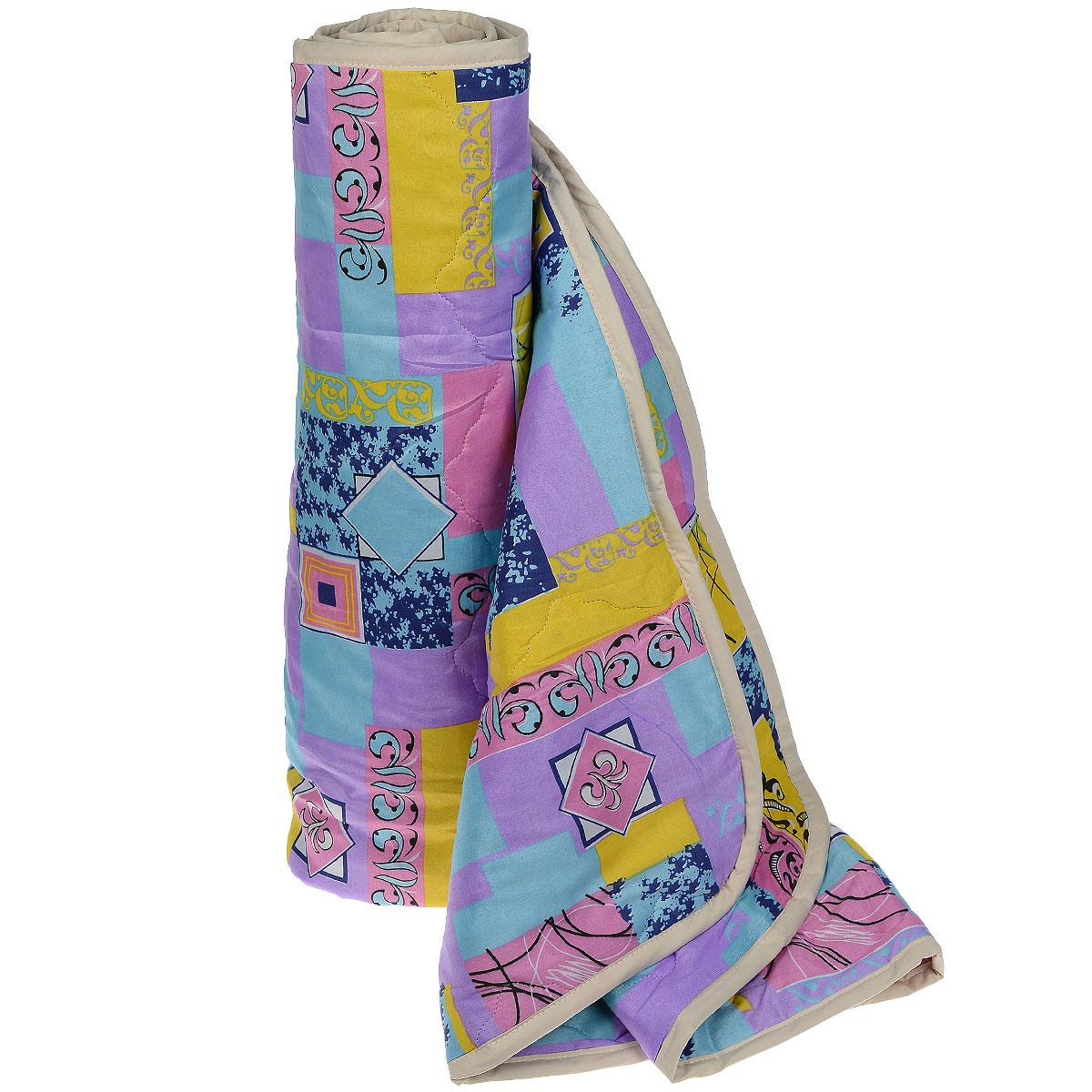 Одеяло всесезонное OL-Tex Miotex, наполнитель: полиэфирное волокно Holfiteks, 140 х 205 см МХПЭ-15-3172(32)04-ОШВсесезонное одеяло OL-Tex Miotex создаст комфорт и уют во время сна. Стеганый чехол выполнен из полиэстера и оформлен красочным рисунком. Внутри - современный наполнитель из полиэфирного высокосиликонизированного волокна Holfiteks, упругий и качественный. Холфитекс - современный экологически чистый синтетический материал, изготовленный по новейшим технологиям. Его уникальность заключается в расположении волокон, которые позволяют моментально восстанавливать форму и сохранять ее долгое время. Изделия с использованием Холфитекса очень удобны в эксплуатации - их можно часто стирать без потери потребительских свойств, они быстро высыхают, не впитывают запахов и совершенно гиппоаллергенны. Холфитекс также обеспечивает хорошую терморегуляцию, поэтому изделия с наполнителем из холфитекса очень комфортны в использовании. Одеяло с современным упругим наполнителем Холфитекс порадует вас в любое время года. Оно комфортно согревает и создает отличный микроклимат. За одеялом легко ухаживать, можно стирать в стиральной машинке.Рекомендации по уходу:- Ручная и машинная стирка при температуре 30°С.- Не гладить.- Не отбеливать. - Нельзя отжимать и сушить в стиральной машине.- Сушить вертикально. Размер одеяла: 140 см х 205 см. Материал чехла: 100% полиэстер. Материал наполнителя: полиэфирное высокосиликонизированное волокно Holfiteks. Плотность наполнителя: 300 г/м2.Уважаемые клиенты! Обращаем ваше внимание на цветовой ассортимент товара. Поставка осуществляется в зависимости от наличия на складе.