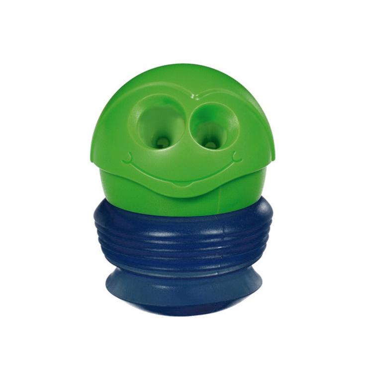 Maped Точилка Сroc-Croc, зеленый, синий3701_фиолетовыйТочилка Maped Сroc-Croc станет незаменимым аксессуаром на рабочем столе не только школьника или студента, но и офисного работника. Забавная точилка Сroc-Croc с гибким контейнером и 2 отверстиями для карандашей различных диаметров. В формате мини идеальна для хранения в пенале, а в макси - для заточки карандашей.Не рекомендуется детям до 3-х лет.