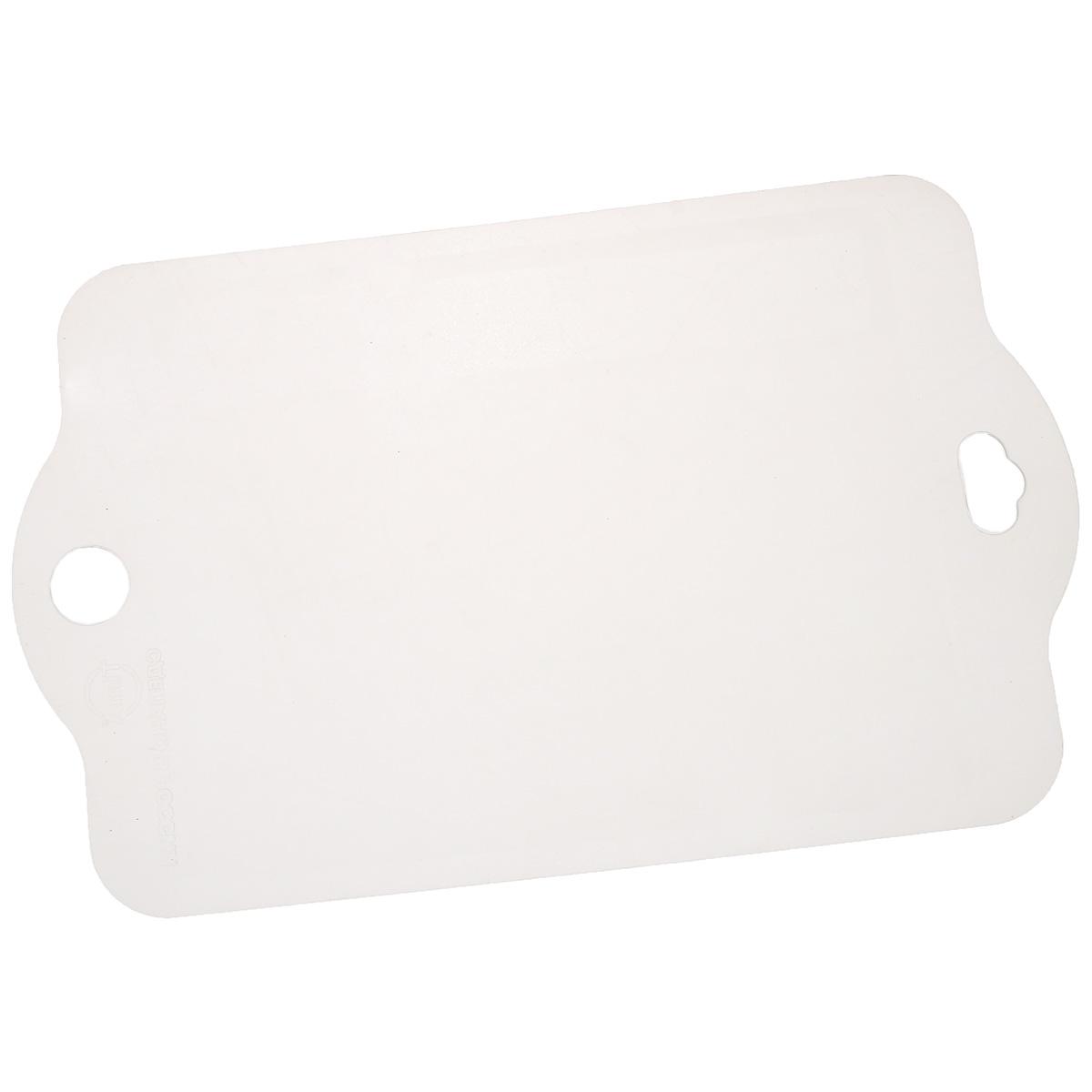 Доска разделочная TimA, 41 см х 26 см54 009312Гибкая разделочная доска TimA, изготовленная из высококачественного пластика, займет достойное место среди аксессуаров на вашей кухне. Благодаря гибкости, с доски удобно высыпать нарезанные продукты. Она не тупит металлические и керамические ножи. Не впитывает влагу и легко моется. Обладает исключительной прочностью и износостойкостью.Доска TimA прекрасно подойдет для нарезки любых продуктов.