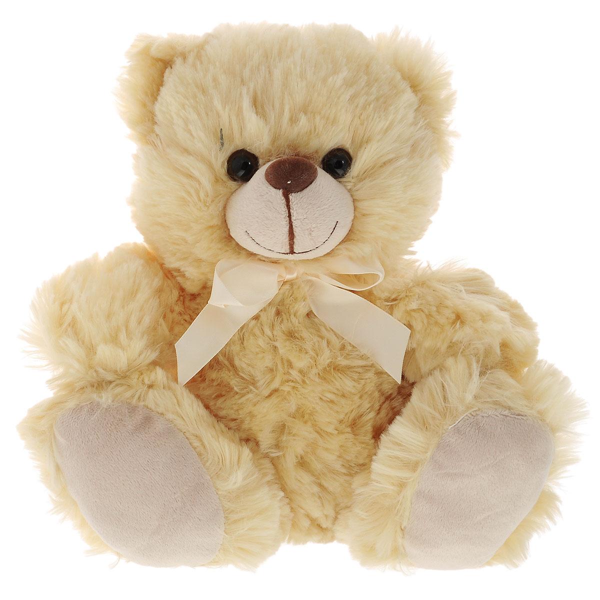 Мягкая озвученная игрушка Plush Apple Мишка, 26 см мягкая игрушка plush apple медведь мишуткин с сердцем 30 см