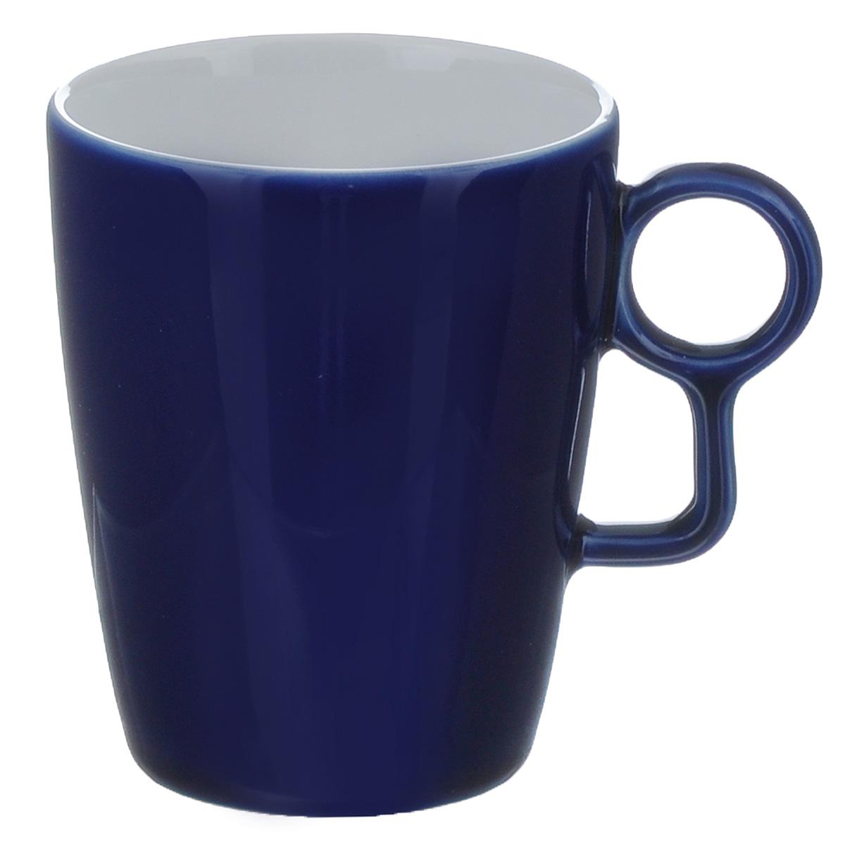 Кружка Sagaform Loop, цвет: синий, 250 мл115510Кружка Sagaform выполнена из высококачественной керамики. Изделие оснащено удобной ручкой. Кружка сочетает в себе оригинальный дизайн и функциональность. Благодаря такой кружке пить напитки будет еще вкуснее. Кружка Sagaform согреет вас долгими холодными вечерами. Можно использовать в посудомоечной машине.Объем: 250 мл.Диаметр (по верхнему краю): 7,5 см.Высота кружки: 10 см.