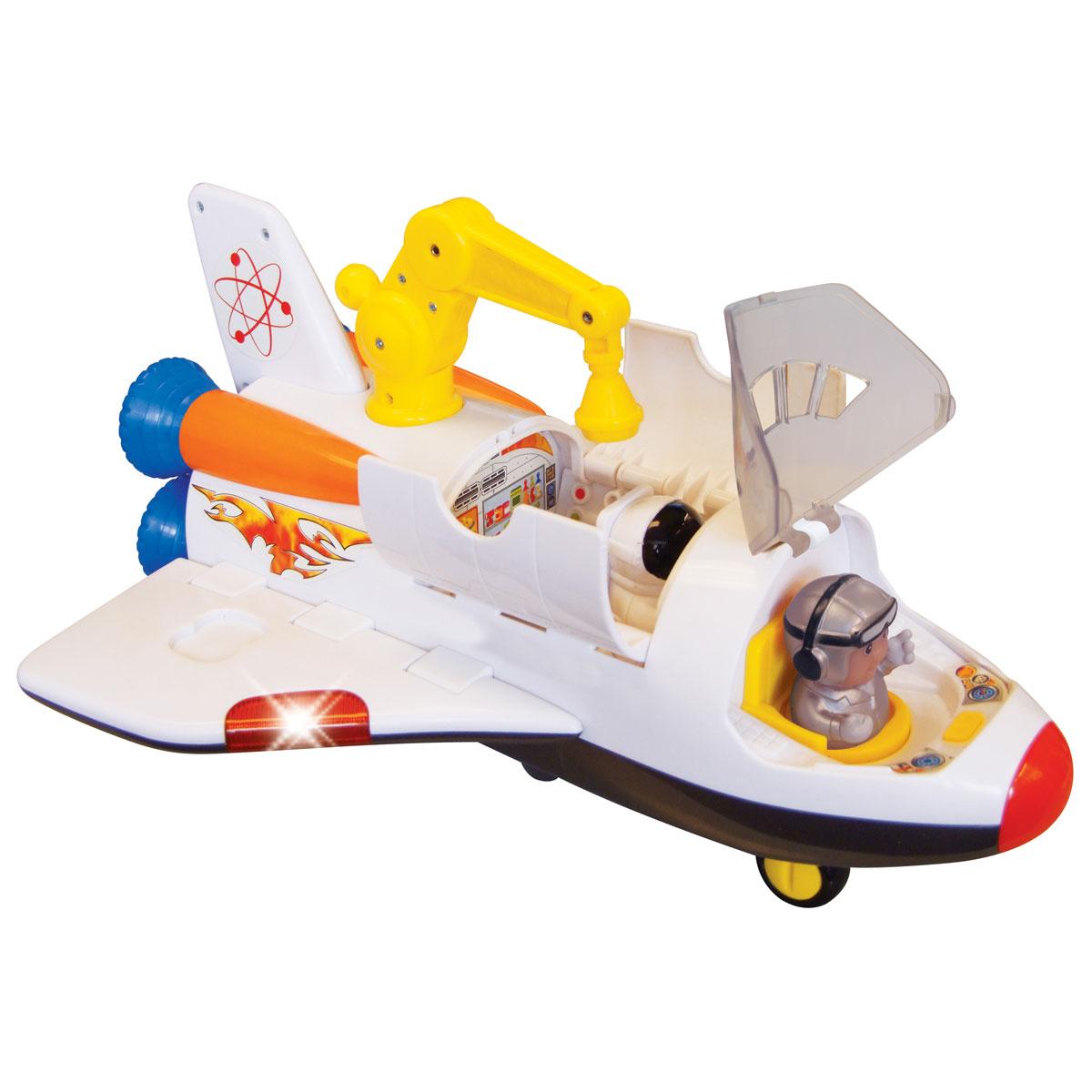 Kiddieland Развивающая игрушка Космический корабль kiddieland развивающая игрушка забавная камера