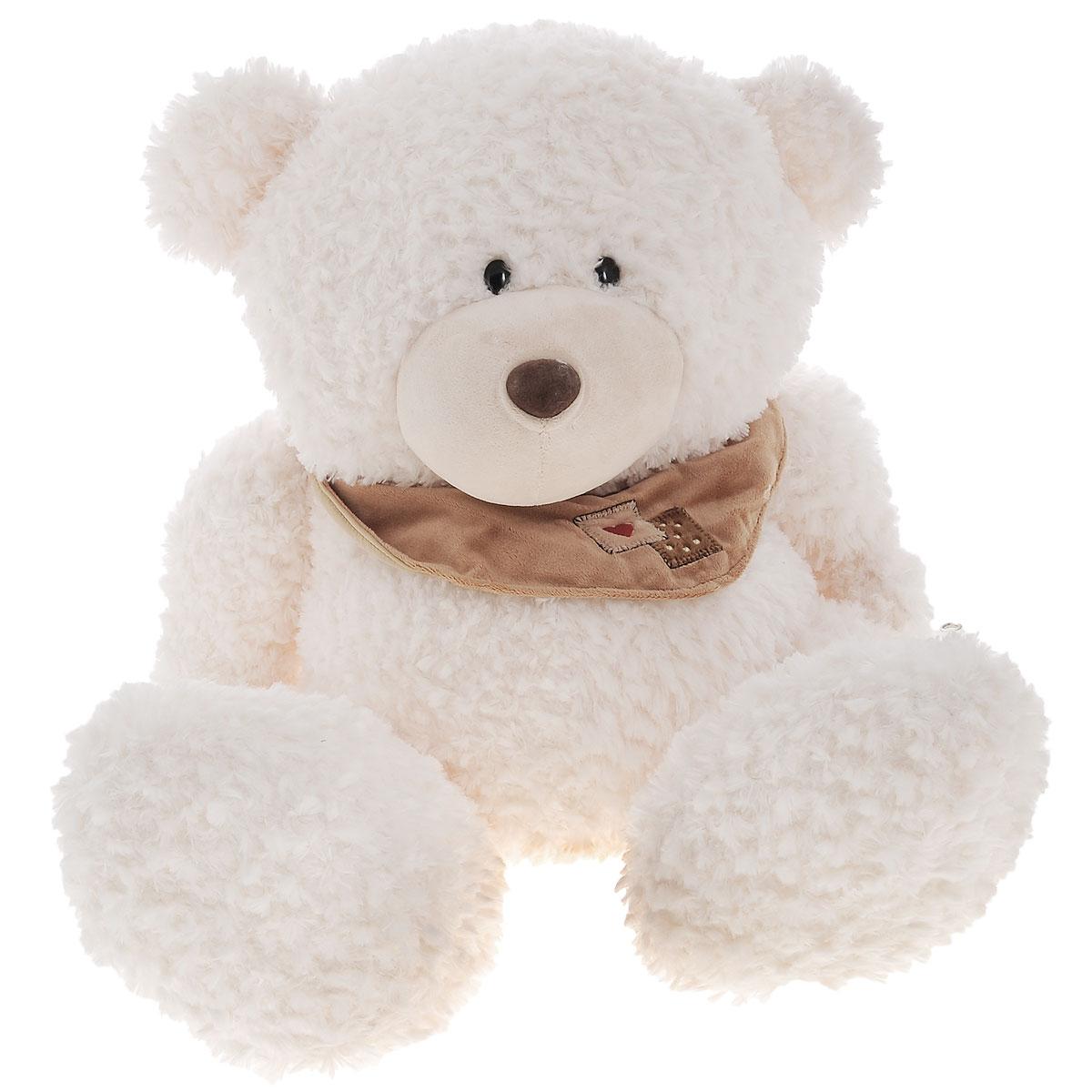 Plush Apple Мягкая игрушка Медведь с шарфом, 50 см мягкая игрушка plush apple собака с шарфом 28 см